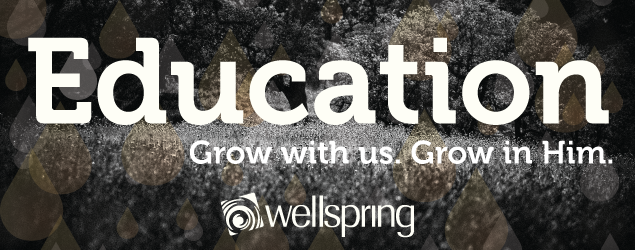 Education.  Grow with us.  Grow in Him.